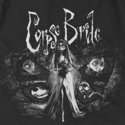 Corpse Bride Bride To Be Shirts