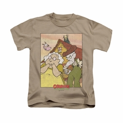 Courage The Cowardly Dog Shirt Kids Gothic Courage Sand Youth Tee T-Shirt