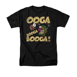 Courage The Cowardly Dog Shirt Ooga Booga Booga Adult Black Tee T-Shirt