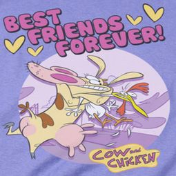 Cow & Chicken Best Friends Shirts