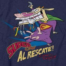 Cow & Chicken Super Cow Shirts