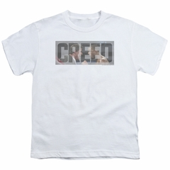 Creed Kids Shirt Pep Talk White T-Shirt