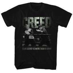 Creed Shirt Black And White Black T-Shirt