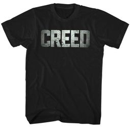 Creed Shirt Title Black T-Shirt
