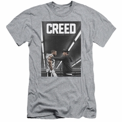 Creed Slim Fit Shirt Movie Poster Athletic Heather T-Shirt