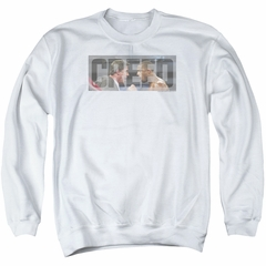 Creed Sweatshirt Pep Talk Adult White Sweat Shirt