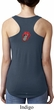 Crystal Tongue Patch Back Print Ladies Ideal Tank Top