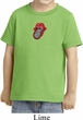 Crystal Tongue Patch Middle Print Toddler Shirt