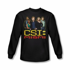 CSI Miami Cast Shirt Long Sleeve Tee T-Shirt