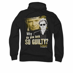 CSI Miami Guilty Hoodie Sweatshirt Black Adult Hoody Sweat Shirt