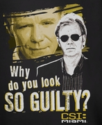 CSI Miami Guilty Shirts