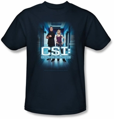 CSI T-shirt - Serious Business Adult Navy Tee