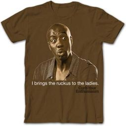 Curb Your Enthusiasm Shirt Leon Ruckus Brown Tee