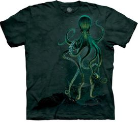 OCTOPUS Adult Tie Dye T-shirt - CLEARANCE