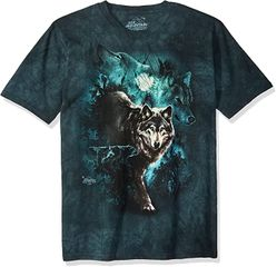 NIGHT WOLVES Wolf Adult Tie Dye T-shirt - CLEARANCE