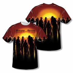 Dawn Of The Dead The Swarm Sublimation Shirt Front/Back Print