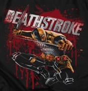 Deathstroke Blood Splattered Shirts