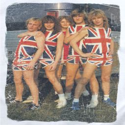 Def Leppard Flag Photo Shirts