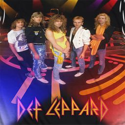 Def Leppard On Stage Sublimation Shirts