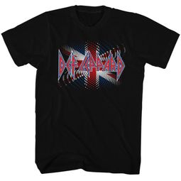 Def Leppard Shirt British Black Tee T-Shirt