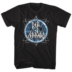 Def Leppard Shirt Electric Eye Black T-Shirt