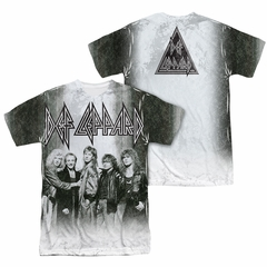 Def Leppard Shirt The Band Sublimation Shirt Front/Back Print
