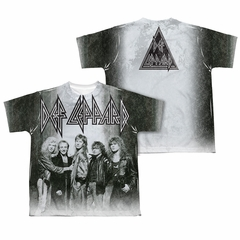 Def Leppard Shirt The Band Sublimation Youth Shirt
