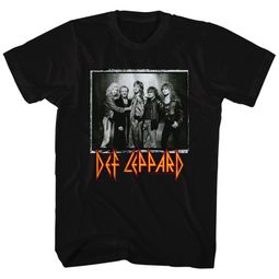 Def Leppard Shirt World Tour Black T-Shirt