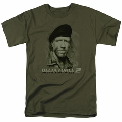 Delta Force 2 Kids Shirt You Can't See Me Military Green T-Shirt