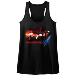 Devil May Cry 4 Juniors Tank Top Face Your Demons Black Racerback
