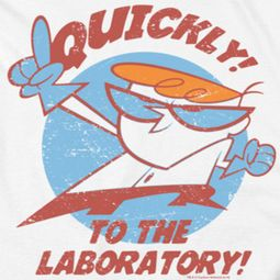 Dexter's Laboratory Quickly Shirts