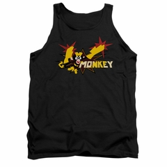 Dexter's Laboratory Tank Top Monkey Black Tanktop