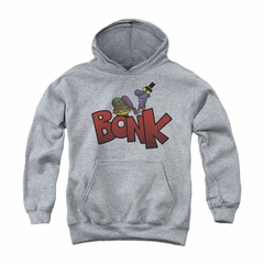 Dexter's Laboratory Youth Hoodie Bonk Athletic Heather Kids Hoody