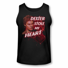 Dexter Shirt Tank Top Stole My Heart Black Tanktop