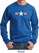 Distressed Air Force Star Sweatshirt