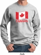 Distressed Canada Flag Sweatshirt