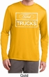 Distressed Ford Trucks Mens Dry Wicking Long Sleeve Shirt