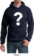 Distressed Question Hoody