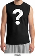 Distressed Question Mens Muscle Shirt