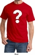 Distressed Question Mens Shirt