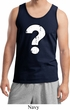 Distressed Question Mens Tank Top