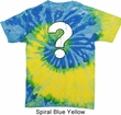 Distressed Question Tie Dye Shirt