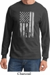 Distressed Stars and Stripes Flag Long Sleeve Shirt