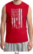 Distressed Stars and Stripes Flag Mens Muscle Shirt