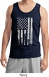 Distressed Stars and Stripes Flag Mens Tank Top