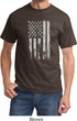 Distressed Stars and Stripes Flag Shirt