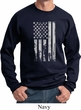 Distressed Stars and Stripes Flag Sweatshirt