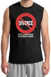 Divorce T-shirt Funny Cheaper To Keep Her White Print Muscle Shirt