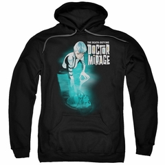Doctor Mirage Hoodie Crossing Over Black Sweatshirt Hoody