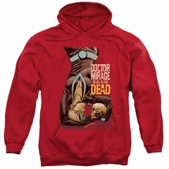 Doctor Mirage Hoodie Talks To The Dead Red Sweatshirt Hoody